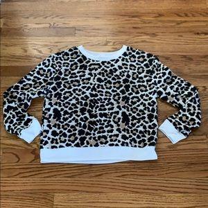 No Boundaries Animal Print Soft Sweatshirt
